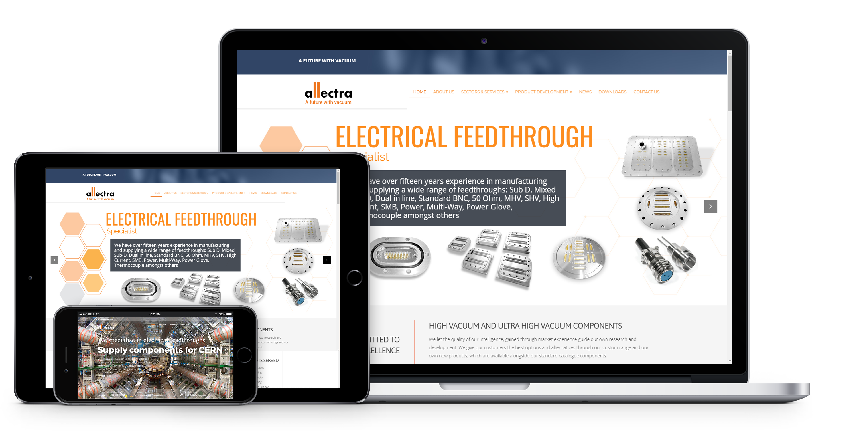 manufacturers wordpress website