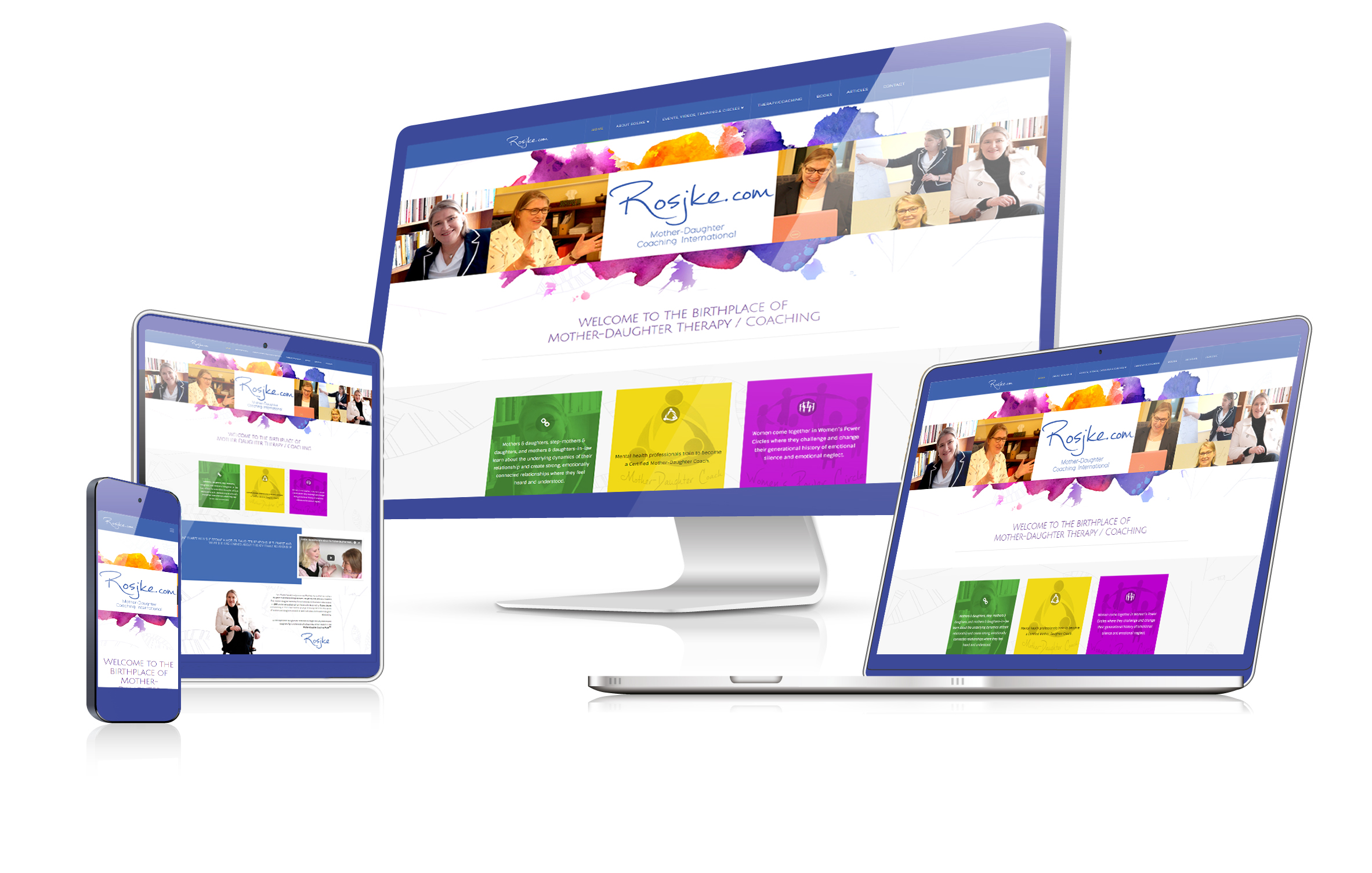 Roskje mother daughter coach wordpress website